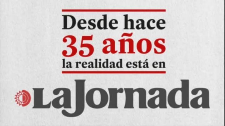 La Jornada 35 años: 152,055 lectores diarios