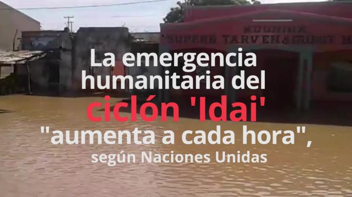 """Las consecuencias del ciclón """"Idai"""" empeoran cada hora en Mozambique"""