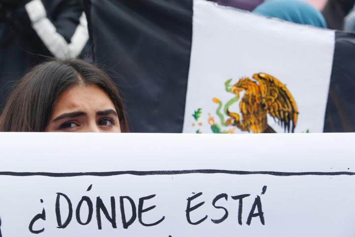 """""""¿Dónde está Marco Antonio?"""", claman en manifestación"""