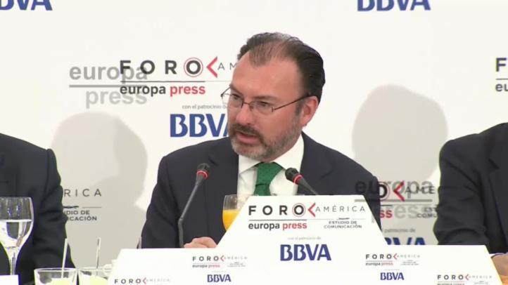 Muro fronterizo ajeno a la relación entre México y Estados Unidos: Luis Videgaray