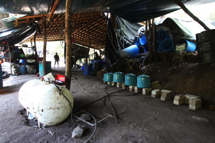Localizan narcolaboratorio en Jalisco