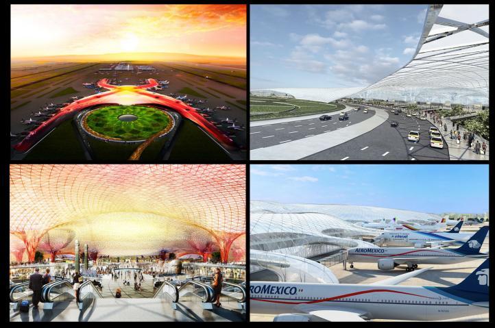 Explican proyecto del nuevo aeropuerto de la Ciudad de México
