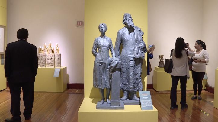 Inauguran exposición de arte contemporáneo de China