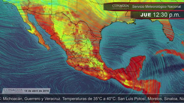 Pronóstico del tiempo para el 14 de abril