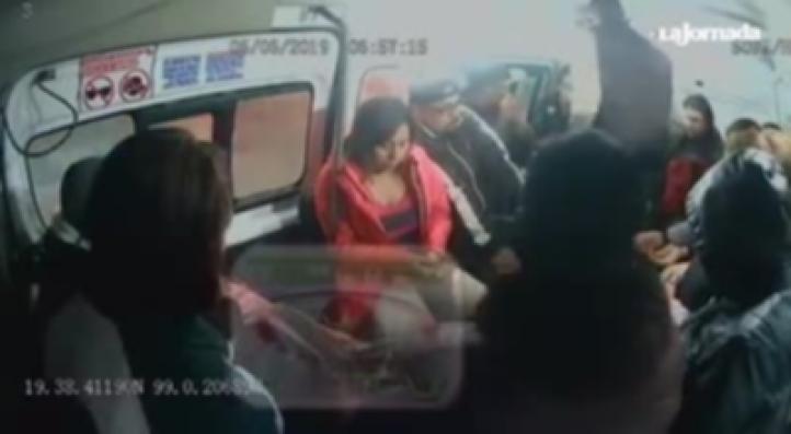 Captan asalto en transporte público en la México-Pachuca