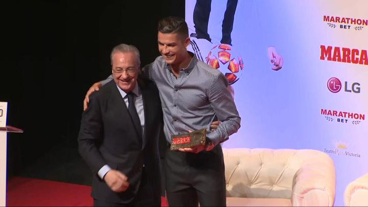 Cristiano Ronaldo, nuevo Marca Leyenda 2019