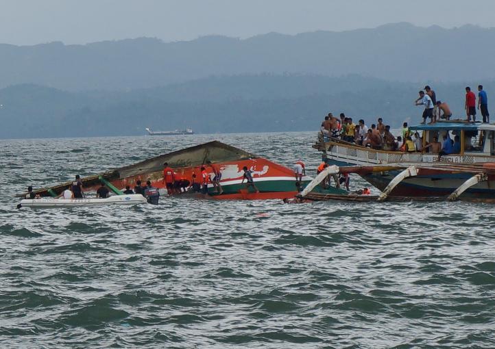 Naufragio en Filipinas