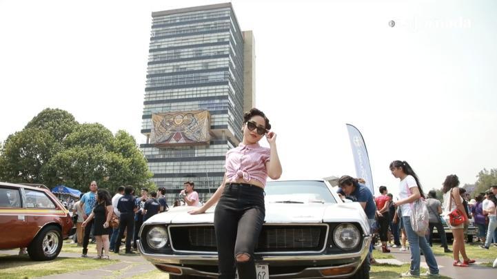 Volver al Pasado: Exposición de autos clásicos en la UNAM