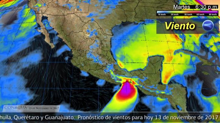 Pronóstico del tiempo para el 13 de noviembre