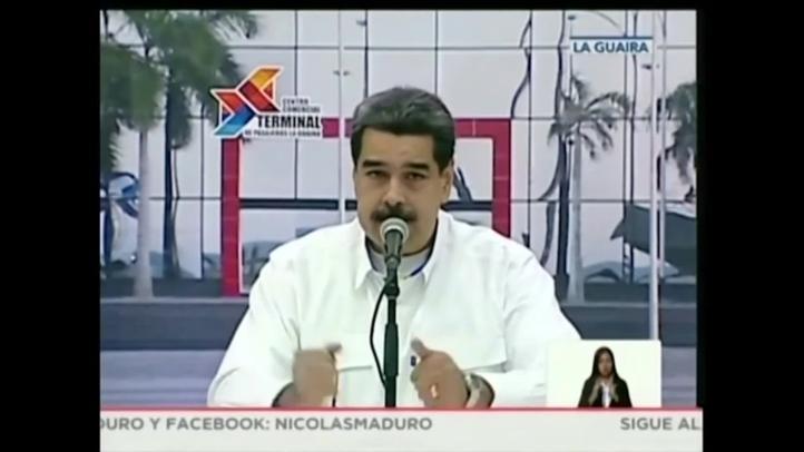 Trump y  Maduro confirman diálogo