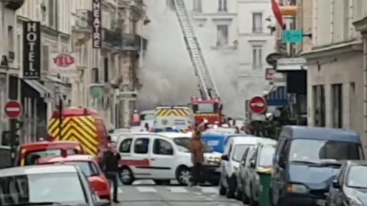 Tres muertos y 47 heridos por una explosión de gas en París