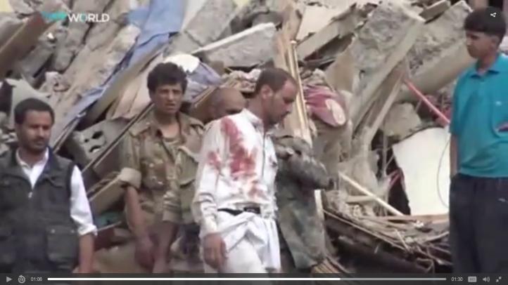 Bombardeo de la coalición saudí deja 14 muertos en Yemen