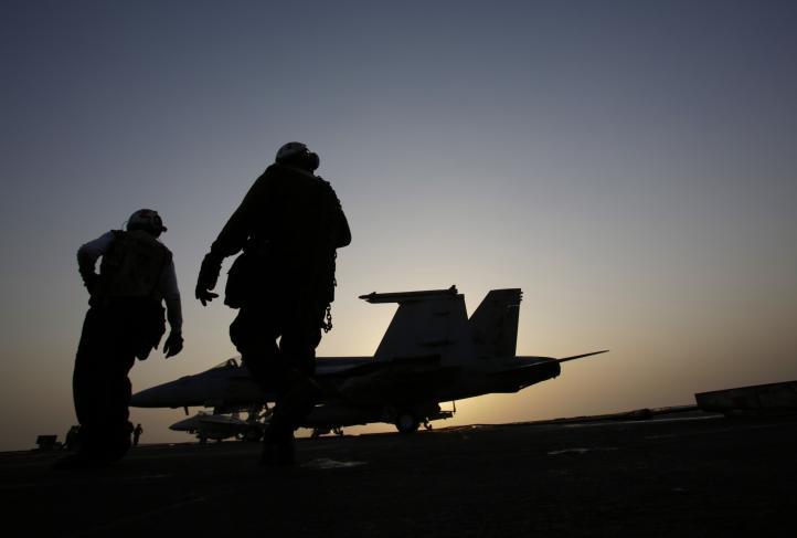 EU inició del bombardeos contra el Estado Islámico en Siria
