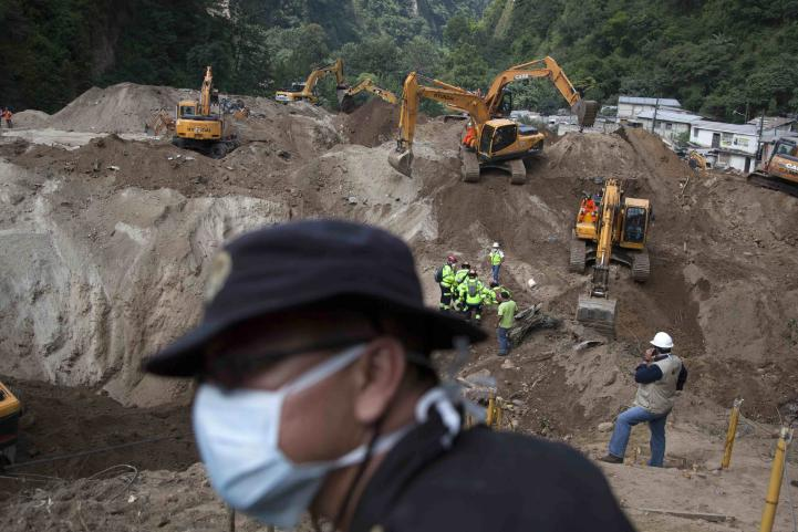 Guatemala concluye búsqueda de víctimas de alud