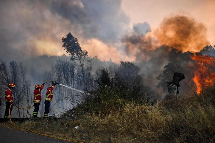Vuelven a registrarse incendios forestales en Portugal