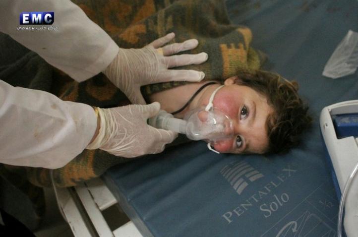 Turquía confirma ataque con armas químicas en Siria