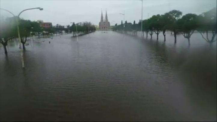 Temen que se agraven las lluvias en la provincia de Buenos Aires
