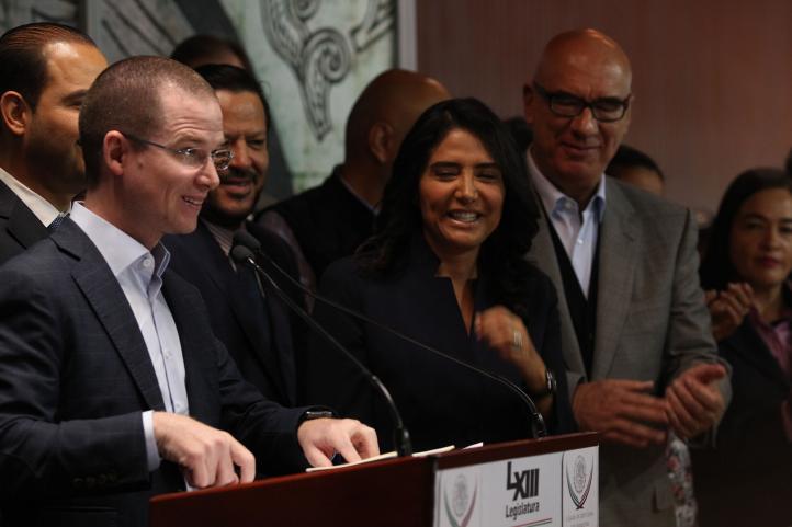 Frente Ciudadano por México presenta agenda legislativa