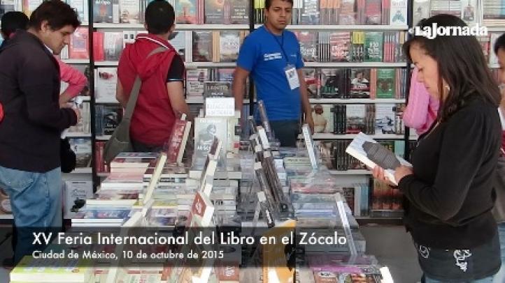 XV Feria Internacional del Libro en el Zócalo: música, ajedrez y lecturas
