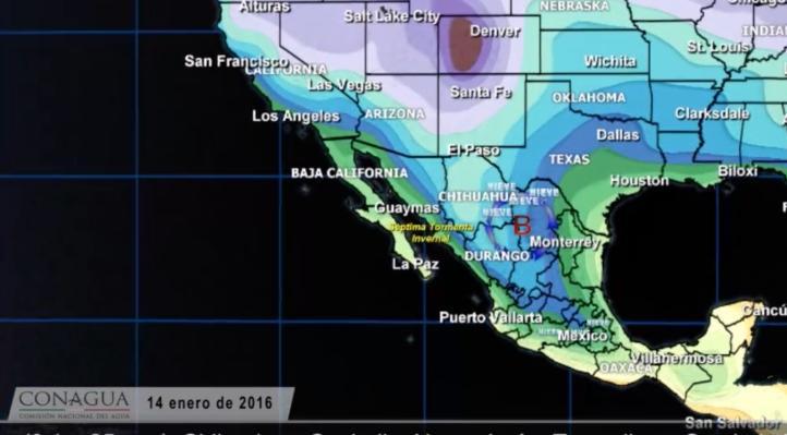 Séptima tormenta invernal mantendrá el descenso en las temperaturas