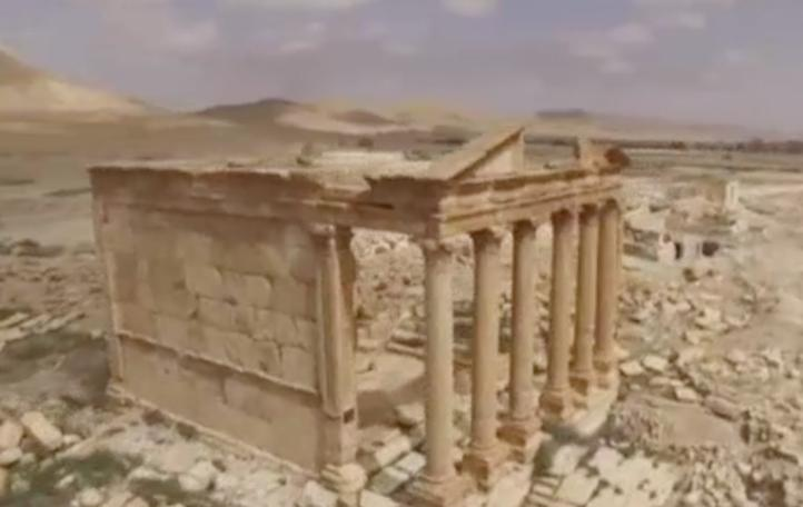 Expulsan a milicianos del grupo Estado Islámico de la ciudad de Palmira