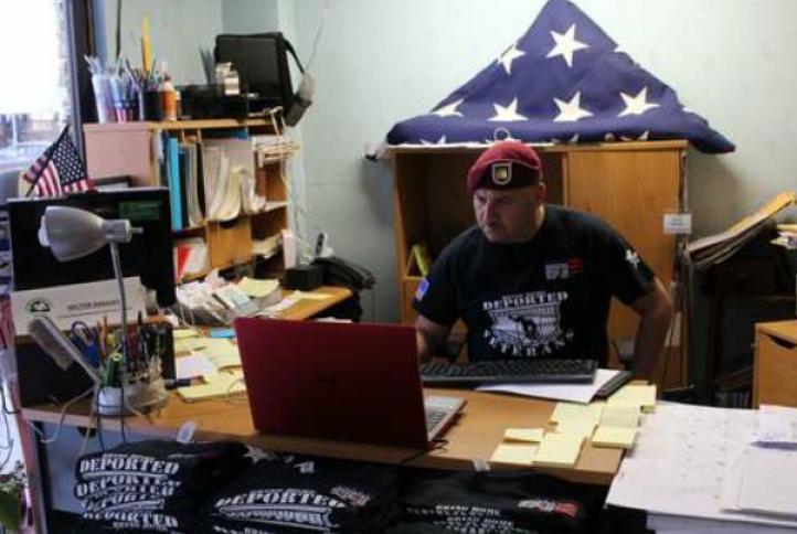 En albergues de Tijuana, veteranos de guerra de EU deportados