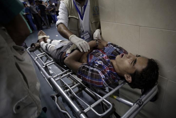 Nuevos ataques aéreos del ejercito israelí deja a decenas de heridos en Gaza.