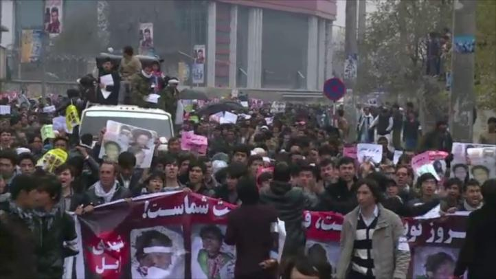 Protesta en Kabul pide fin de violencia contra los hazaras