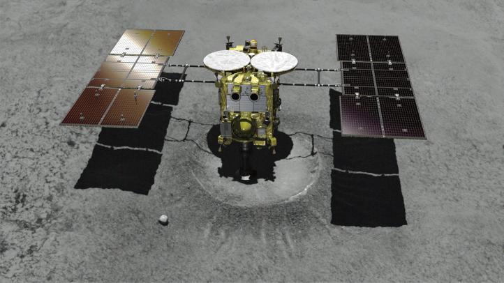 Sonda espacial japonesa 'Hayabusa2' se acerca a asteroide
