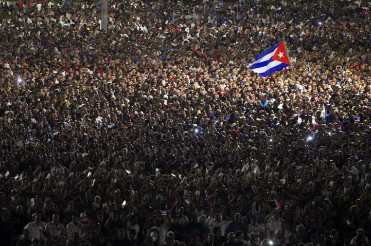 Homenaje póstumo a Fidel Castro