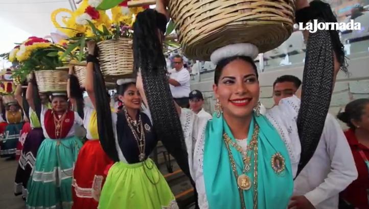 Las fiestas de la Guelaguetza 2017