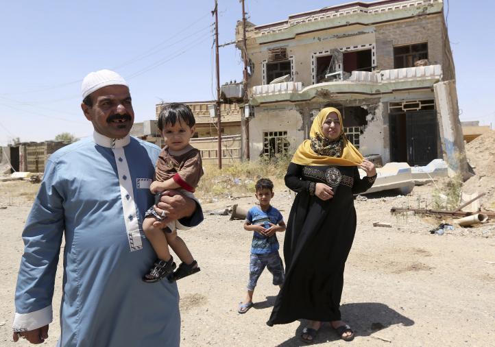 Iraquíes regresan a Tikrit tras expulsión del Estado Islámico