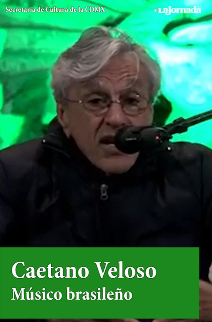 Caetano Veloso en las Islas de CU, en concierto gratuito