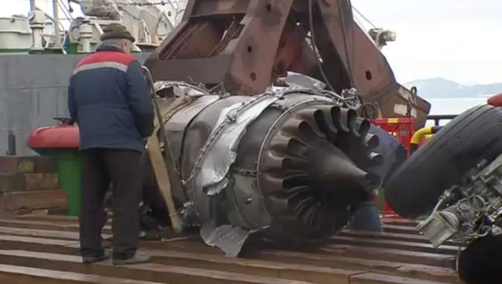 Ubican segunda caja negra de avión ruso