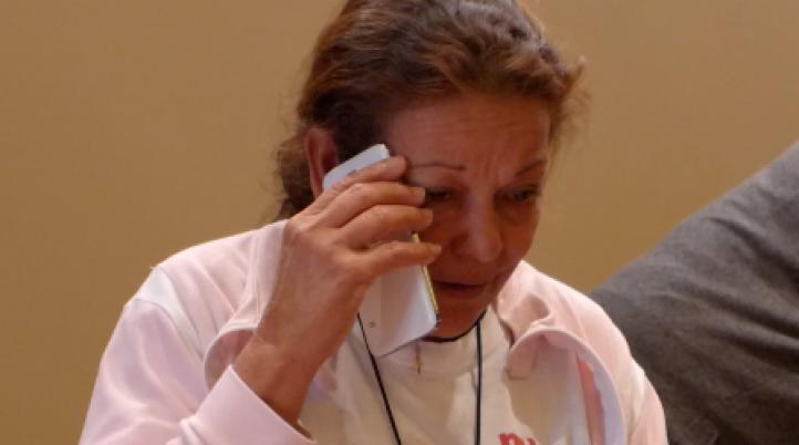 La Caravana de Madres de Migrantes encuentra a una desaparecida