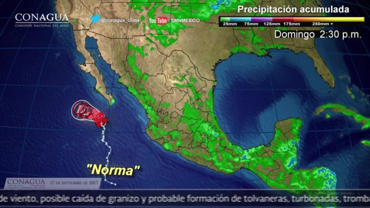 Pronóstico del tiempo para el 17 de septiembre