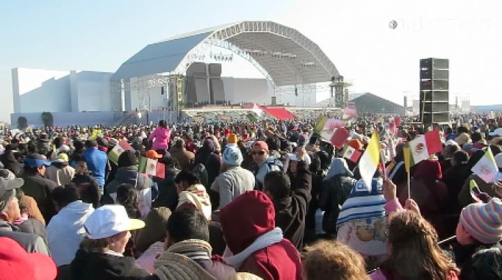 Así se vivió la misa del papa Francisco en Ecatepec