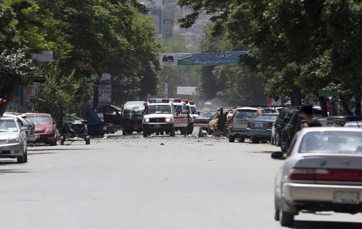 Ataques suicidas dejan 7 muertos en la capital de Afganistán