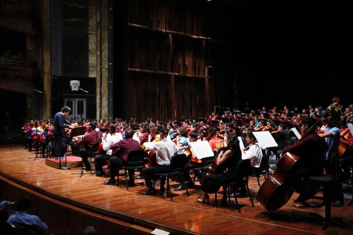 Gustavo Dudamel, Arturo Márquez y las jóvenes promesas