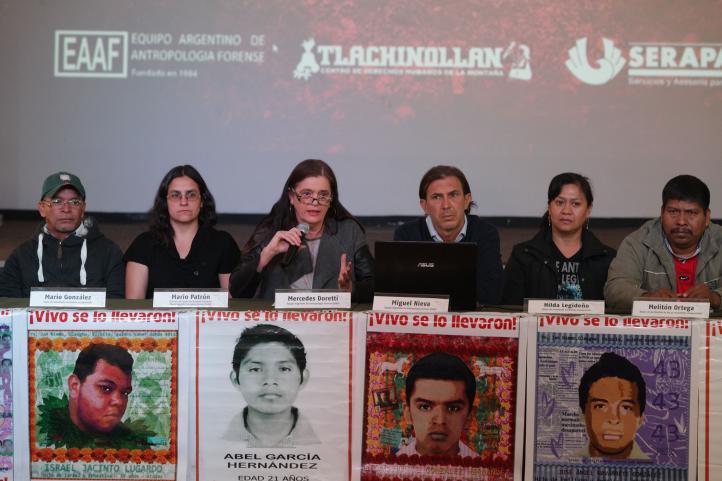 Descartan forenses argentinos cremación de normalistas en Cocula