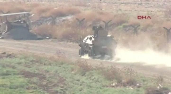 Turquia bombardea objetivos del grupo Estado Islámico en Siria