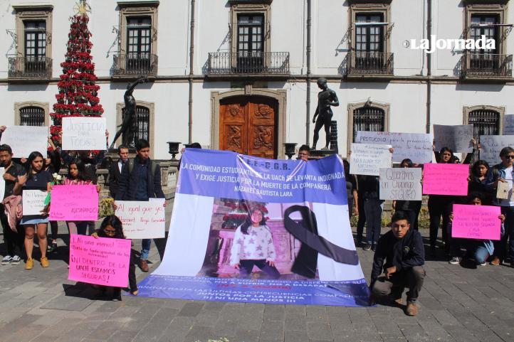 Piden justicia en Chapingo por feminicidio de Nazaret Bautista