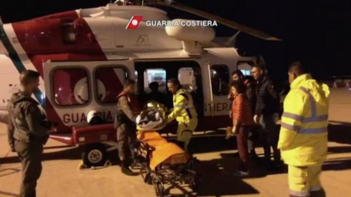 Rescatan a migrantes en el Mar Mediterráneo