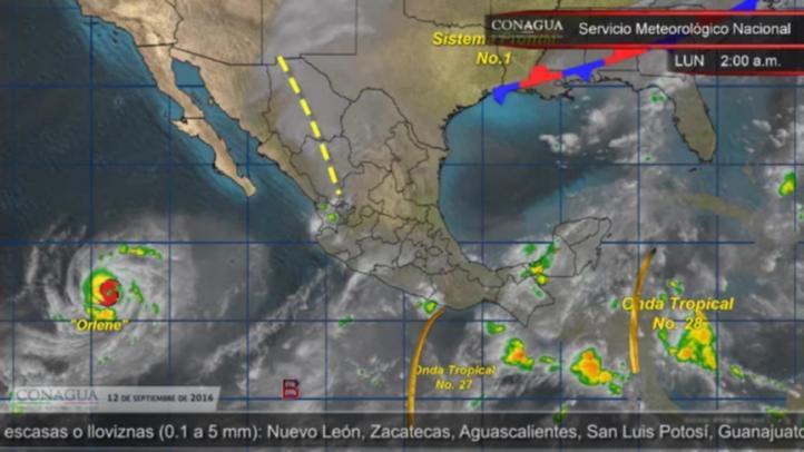 Pronóstico del tiempo para el 12 de septiembre