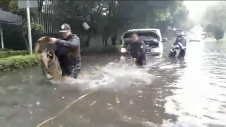 Se inundan 22 puntos por lluvias en la CDMX