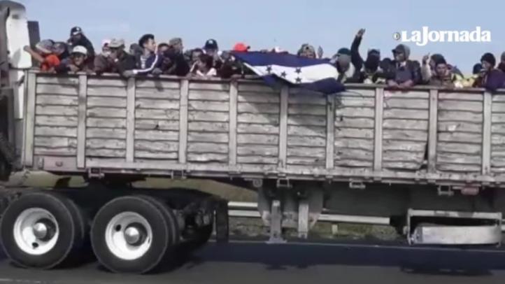 Caos vial en la León-Aguascalientes por migrantes
