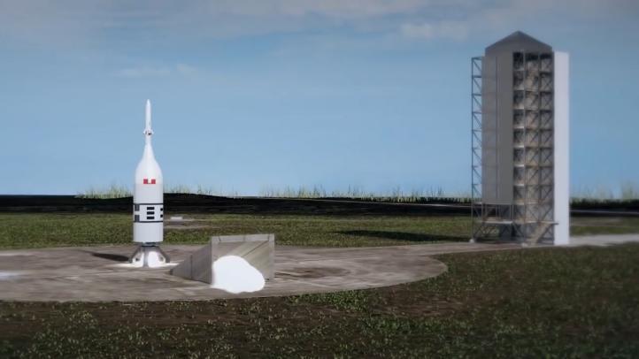 El sistema de aborto de lanzamiento de Orión volará el 2 de julio