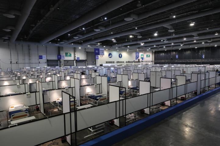 El lunes comienza operaciones la Unidad Temporal Covid-19, en el Centro Citibanamex