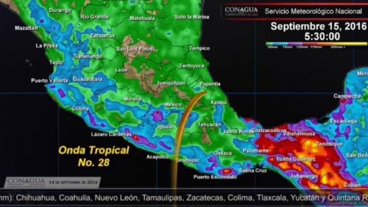 Pronóstico del tiempo para el 14 de septiembre