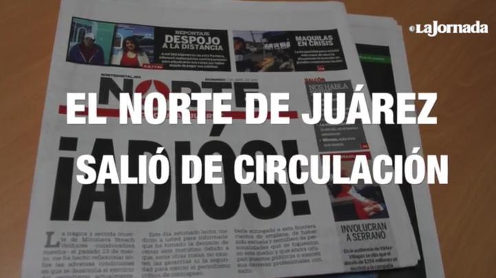 Así se despidieron periodistas del Norte de Juárez